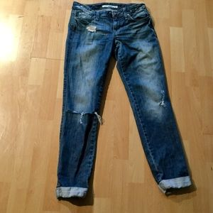 Joe's skinny Chelsea distressed jeans 28
